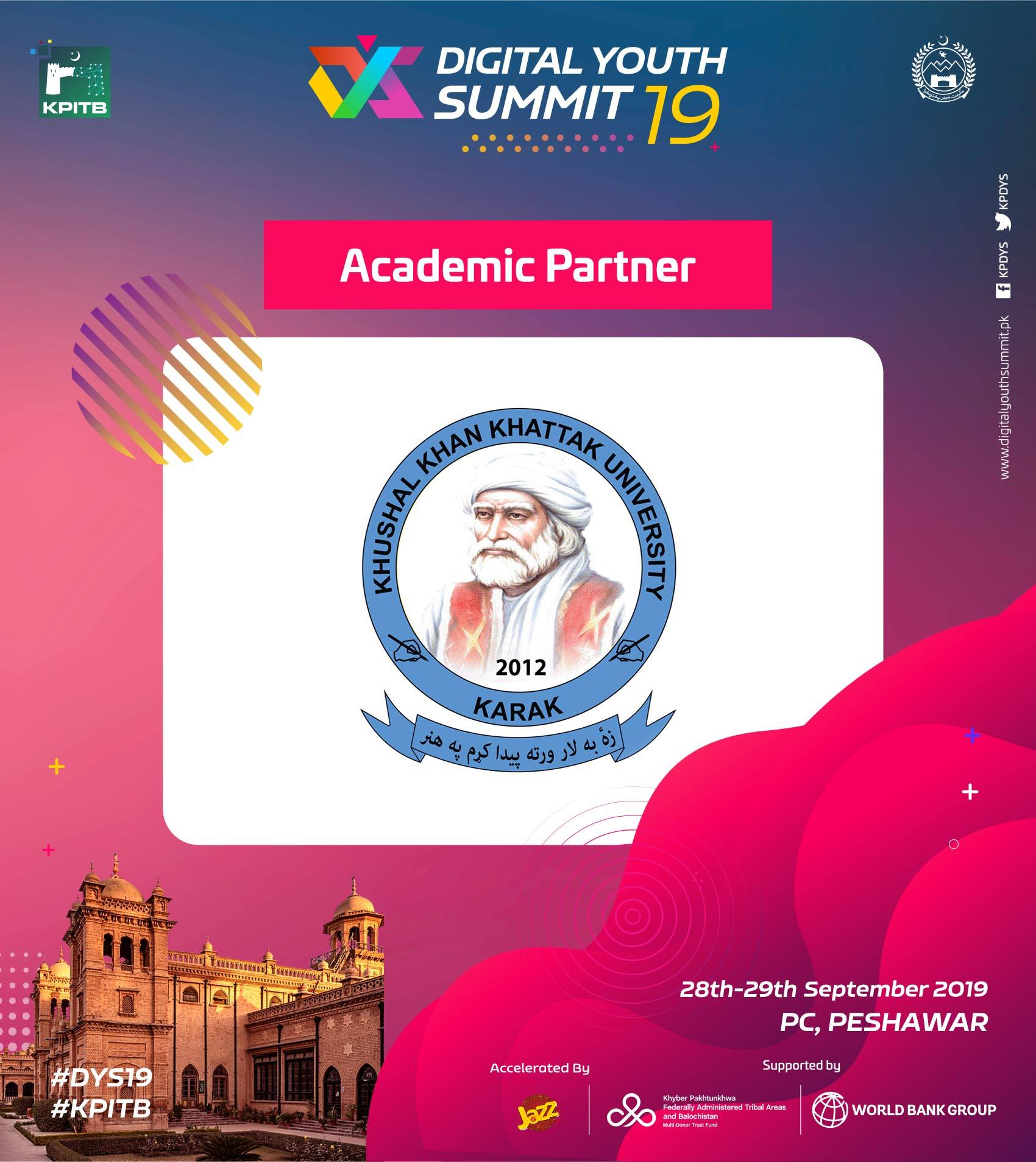 Digital Youth Summit: Academic Partner